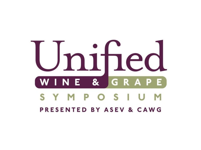 The Unified Wine & Grape Symposium logo